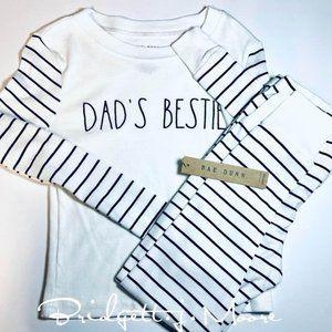 Rae Dunn Dad's Bestie Pj set size 6